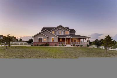 Parker CO Single Family Home Under Contract: $645,000