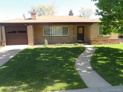 Wheat Ridge Single Family Home Active: 5651 West 36th Place