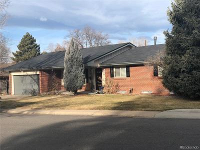 Denver Single Family Home Active: 2953 East Amherst Avenue