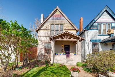 Denver Single Family Home Active: 471 South Grant Street