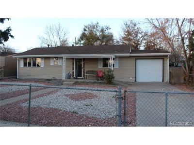 Denver Single Family Home Active: 161 Campo Street