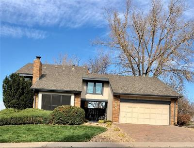 Centennial Single Family Home Under Contract: 8595 East Mineral Circle