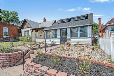 Denver Single Family Home Active: 753 Knox Court