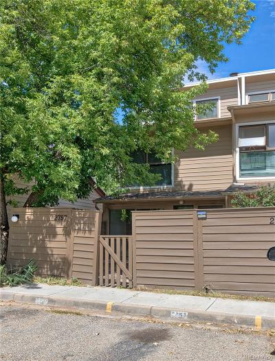 Boulder Condo/Townhouse Under Contract: 2757 Northbrook Place