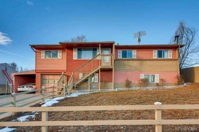 Thornton Single Family Home Active: 9341 Hoffman Way