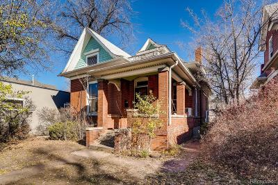 Denver Single Family Home Active: 630 South Logan Street