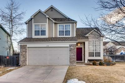 Centennial Single Family Home Under Contract: 8172 South York Court