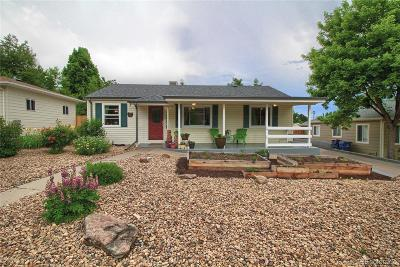 Wheat Ridge Single Family Home Under Contract: 2860 Harlan Street