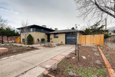 Boulder CO Single Family Home Active: $750,000