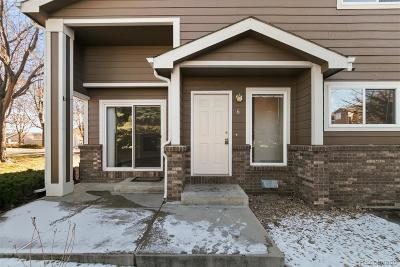Longmont Condo/Townhouse Active: 1601 Great Western Drive #A6