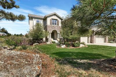 Castle Rock CO Single Family Home Under Contract: $1,195,000