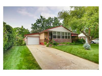 Englewood Single Family Home Active: 4153 South Kalamath Court