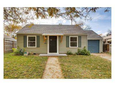 Denver Single Family Home Active: 1215 Spruce Street