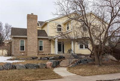 Castle Pines Single Family Home Active: 7350 Rochester Court
