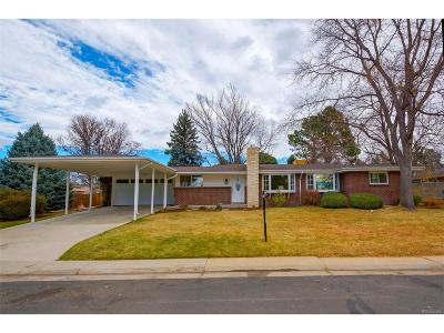 Denver Single Family Home Active: 2558 South Holly Place