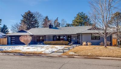 Denver Single Family Home Sold: 975 South Jackson Street