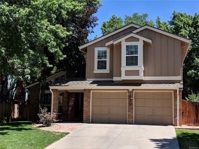 Littleton Single Family Home Active: 7930 South Bemis Street