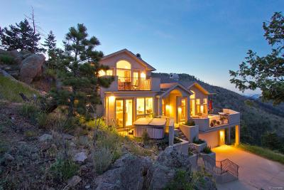 Boulder Single Family Home Active: 7400 Sunshine Canyon Drive