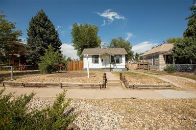 Greeley Single Family Home Under Contract: 1225 5th Street