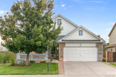 Castle Rock Single Family Home Under Contract: 671 Pitkin Way