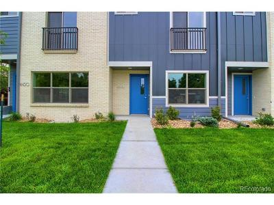 Denver Condo/Townhouse Active: 4420 East Bails Place