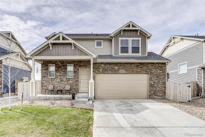 Commerce City Single Family Home Under Contract: 13624 East 107th Avenue