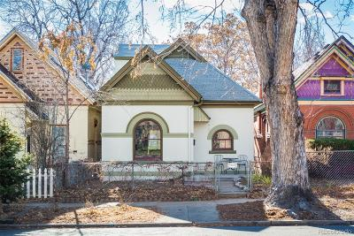 Denver Single Family Home Active: 3230 West Hayward Place