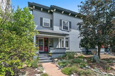 Denver Condo/Townhouse Under Contract: 242 North Logan Street