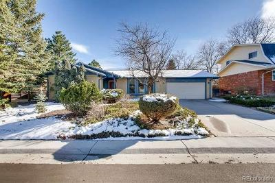 Golden Single Family Home Active: 14378 West Ellsworth Place