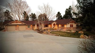 Castle Rock Single Family Home Under Contract: 1819 Haystack Road