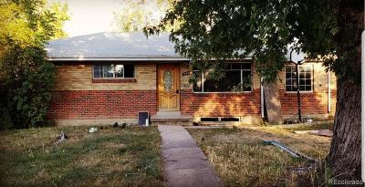 Denver Single Family Home Active: 1460 South Wolcott Way