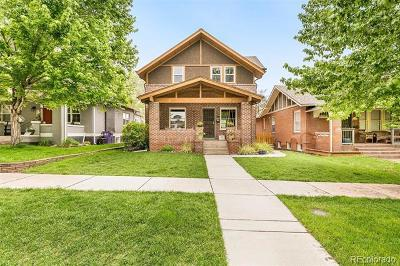 Denver Single Family Home Active: 2720 Julian Street