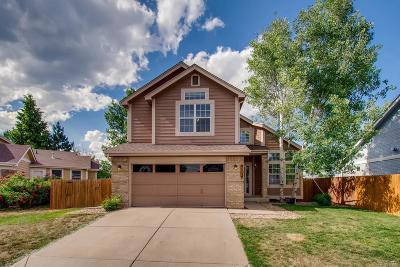 Broomfield Single Family Home Under Contract: 327 Oak Lane