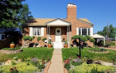 Park Hill Single Family Home Active: 2860 Grape Street