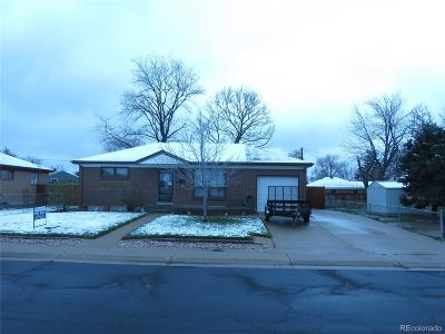 Northglenn Single Family Home Active: 1662 East 115th Avenue