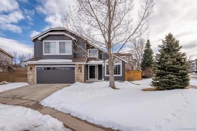 Castle Rock Single Family Home Under Contract: 4946 North Sungold Lane