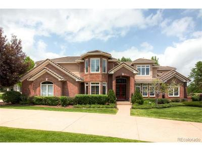 Centennial, Cherry Hills Village, Englewood, Greenwood Village, Littleton, Highlands Ranch, Castle Pines, Castle Pines N, Lone Tree Single Family Home Active: 5791 South Beech Court