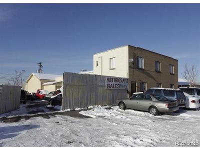 Denver Single Family Home Active: 3727 Delgany Street