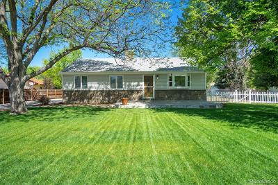 Lakewood CO Single Family Home Active: $419,900