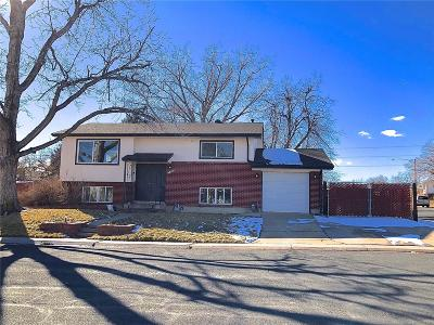Northglenn Single Family Home Under Contract: 11495 Emerson Street