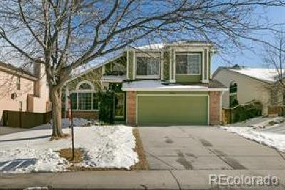 Highlands Ranch Single Family Home Under Contract: 9464 Hibiscus Drive