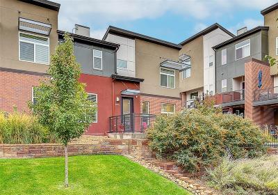 Wheat Ridge Condo/Townhouse Under Contract: 3785 Depew Street #A