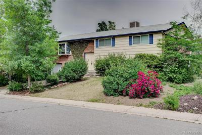 Denver Single Family Home Active: 3348 South Ulster Court