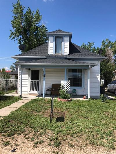 Deer Trail Single Family Home Under Contract: 757 3rd Avenue