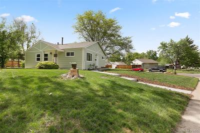 Denver Single Family Home Under Contract: 2601 South Knox Court