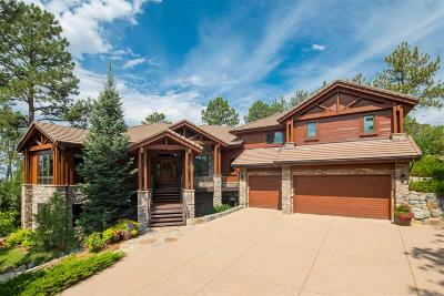 Castle Rock Single Family Home Under Contract: 123 Silver Leaf Way