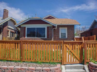 Denver Single Family Home Active: 3220 North York Street