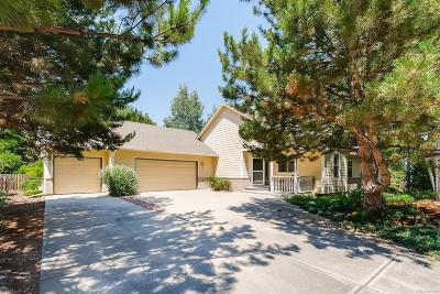Niwot Single Family Home Under Contract: 7911 West Sussex Court