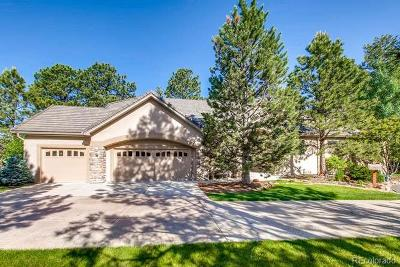 Castle Rock CO Single Family Home Active: $750,000