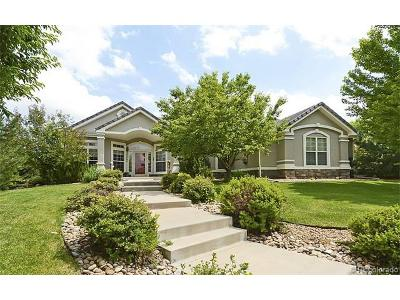 Castle Rock CO Single Family Home SOLD: $599,999